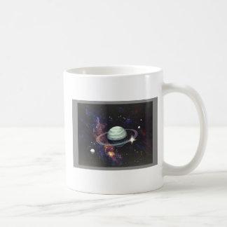 Saturn with Rings Coffee Mug