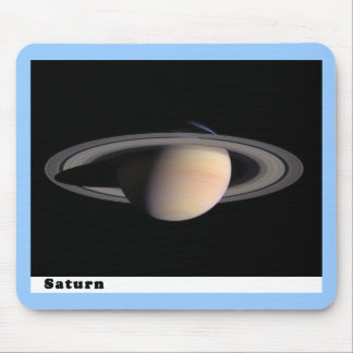Saturn with Rings Mouse Pad