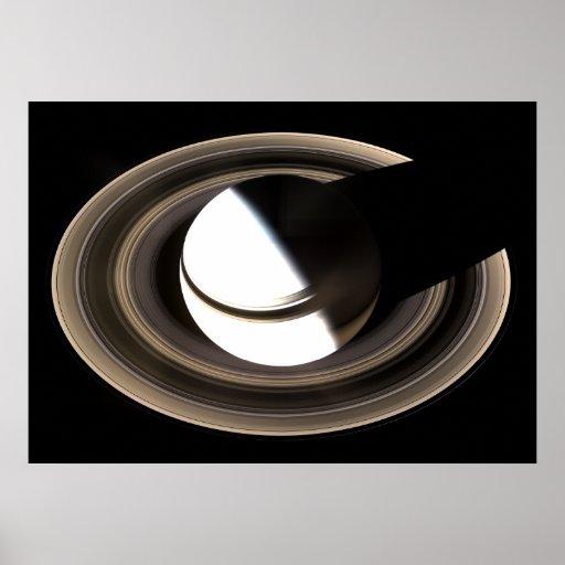 Saturn y sus anillos posters
