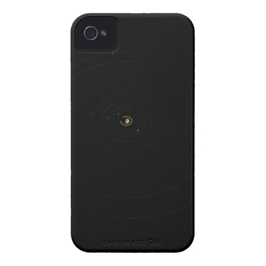 Saturn y sus lunas carcasa para iPhone 4 de Case-Mate
