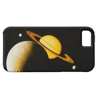 Saturn y sus lunas funda para iPhone SE/5/5s