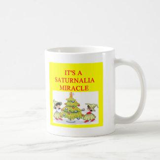 SATURNALIA pagan holiday Coffee Mug