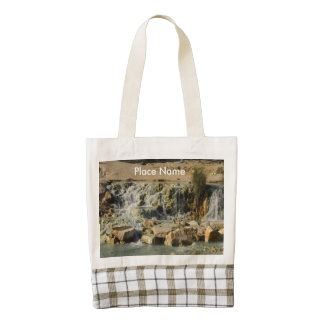 Saturnia Natural Hot Springs Zazzle HEART Tote Bag