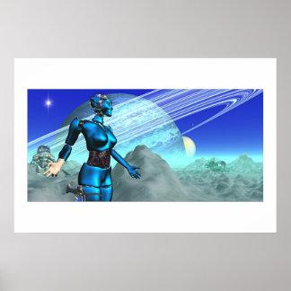 Saturnia Poster