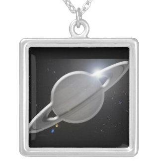 Saturno de plata joyerias personalizadas