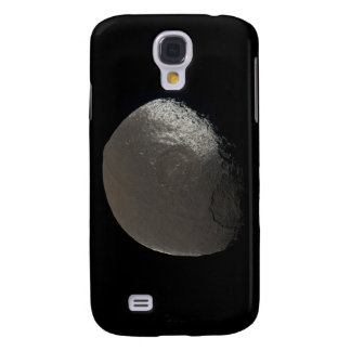 Saturn's 3rd Largest Moon Iapetus Taken by Cassini Galaxy S4 Cover