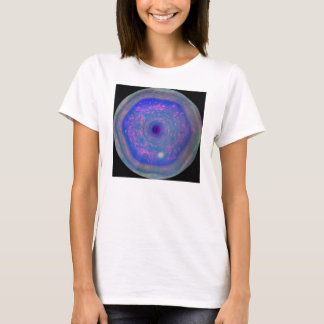 Saturn's Hexagon Storm T-Shirt