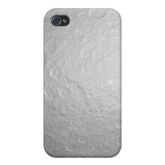 Saturn's icy moon Rhea iPhone 4 Covers