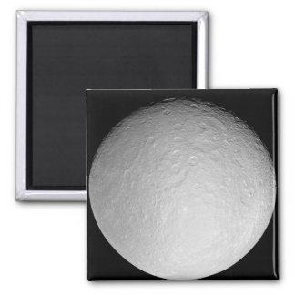 Saturn's icy moon Rhea Magnet