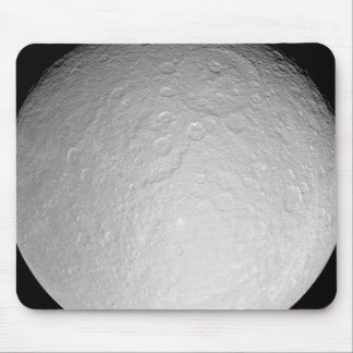 Saturn's icy moon Rhea Mouse Pad