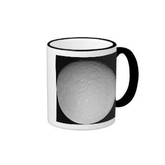 Saturn's icy moon Rhea Ringer Mug