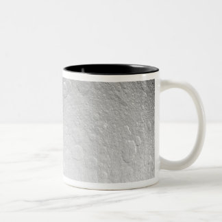 Saturn's icy moon Rhea Two-Tone Coffee Mug