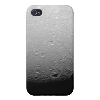 Saturn's moon Dione 2 iPhone 4/4S Covers
