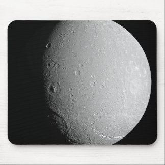 Saturn's moon Dione 2 Mouse Pad
