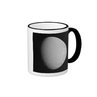 Saturn's moon Dione 2 Ringer Mug