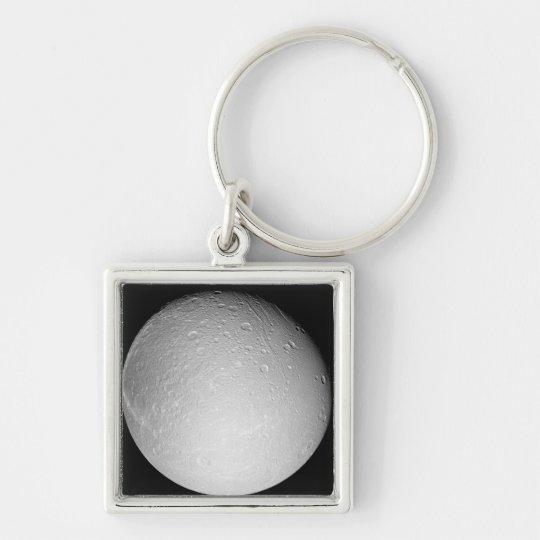 Saturn's moon Dione Keychain