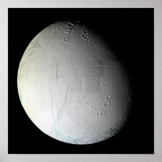 Saturn's moon Enceladus 2 Posters