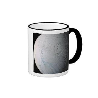 Saturn's moon Enceladus 2 Ringer Mug