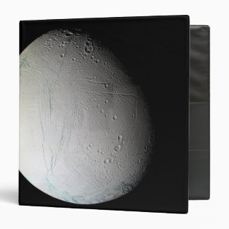 Saturn's moon Enceladus 3 3 Ring Binder