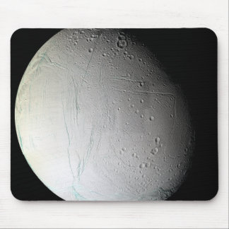 Saturn's moon Enceladus 3 Mouse Pad