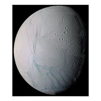 Saturn's moon Enceladus 3 Posters