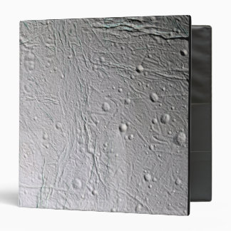 Saturn's moon Enceladus 4 3 Ring Binder