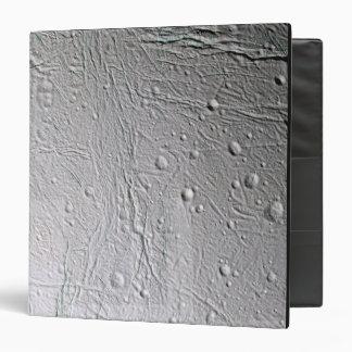 Saturn's moon Enceladus 4 3 Ring Binder