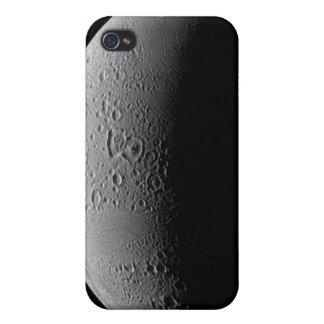 Saturn's moon Enceladus 5 Case For iPhone 4