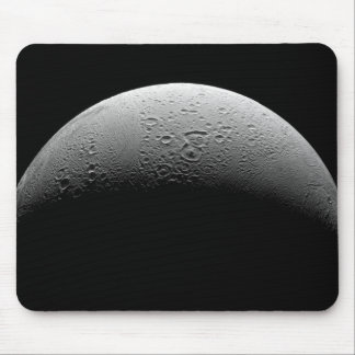 Saturn's moon Enceladus 5 Mouse Pad