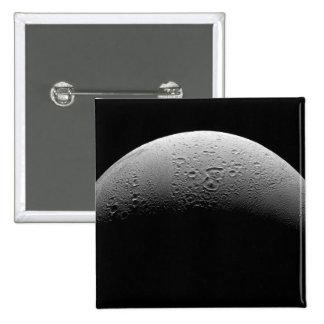 Saturn's moon Enceladus 5 Pinback Button