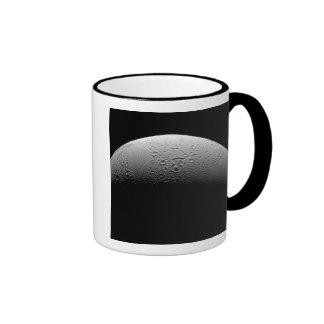 Saturn's moon Enceladus 5 Ringer Mug