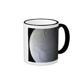 Saturn's moon Enceladus Ringer Mug