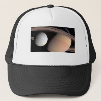 Saturn's Moon Encephaladus Trucker Hat