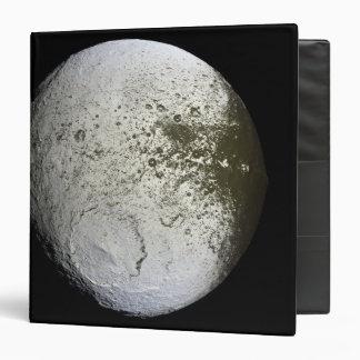Saturn's moon Iapetus 2 3 Ring Binder