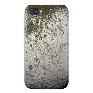 Saturn's moon Iapetus 2 Covers For iPhone 4