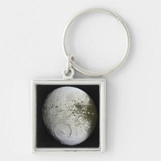 Saturn's moon Iapetus 2 Key Chain