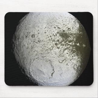 Saturn's moon Iapetus 2 Mouse Pad