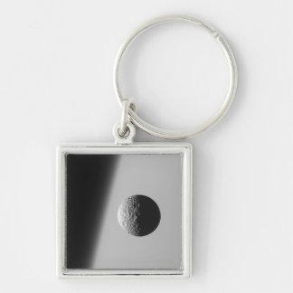 Saturn's moon Mimas Keychain