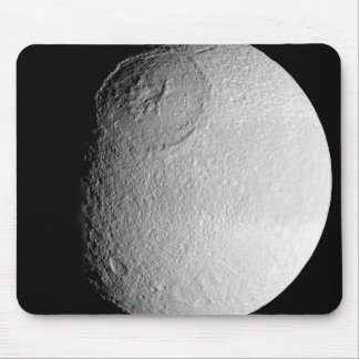Saturn's moon Tethys 2 Mouse Pad