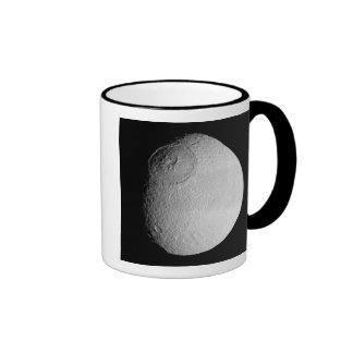 Saturn's moon Tethys 2 Ringer Mug