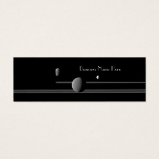 Saturn's Moons Bookmark Business Cards