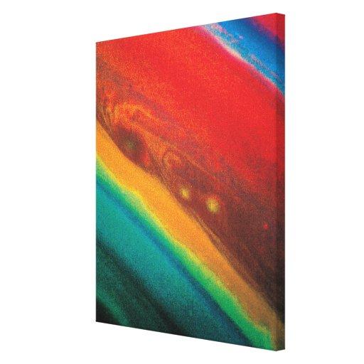 Saturns Northern Hemisphere Canvas Prints