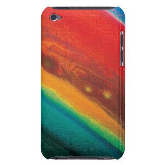 Saturns Northern Hemisphere iPod Case-Mate Case