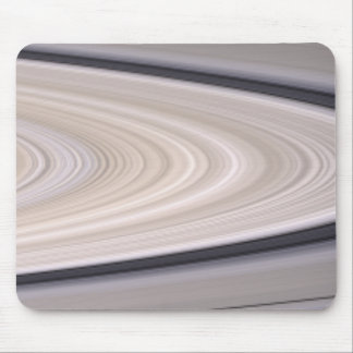 Saturn's ring system mouse pad