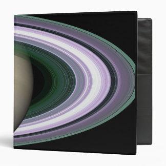 Saturn's Rings 3 Ring Binder
