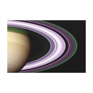 Saturn's Rings Canvas Print