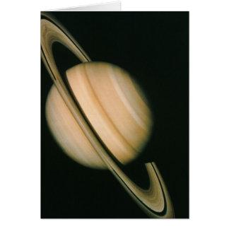 Saturn's Rings Greeting Card
