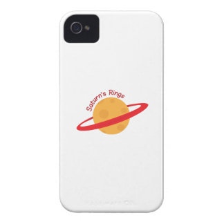 Saturns Rings iPhone 4 Covers