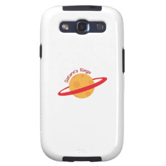 Saturns Rings Samsung Galaxy SIII Covers
