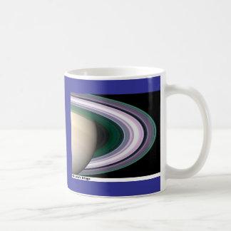 Saturns Rings Coffee Mug